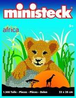 Ministeck Afrika: Löwenbaby