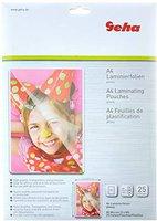 Geha Laminierfolien für A4, 80 mic, 25 Blatt (93380)