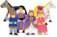 Melissa & Doug Royal Family Puppenset (10286)