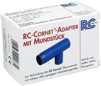 R. Cegla Rc Cornet Adapter mit Mundstück für Inhaliergeräte
