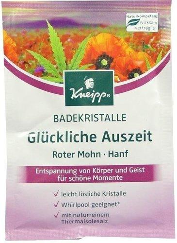 Kneipp Badekristalle Glückliche Auszeit Roter Mohn - Hanf