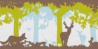 Livingwalls Fairyland Bordüre Tiere im Wald (1312-25)