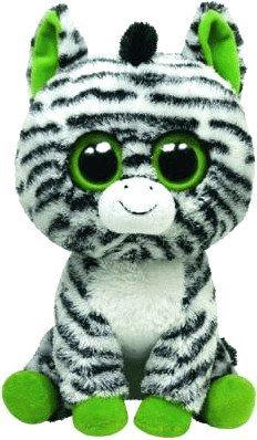 TY Beanie Boos 7136036 Zig-Zag Zebra 15 cm