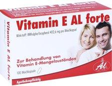 Aliud Vitamin E Al Forte Kapseln (100 Stk.)