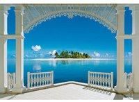 Rasch Terrassen Fototapete Ein Perfekter Tag (40569)