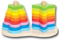 HaPe Regenbogen-Steckspiel