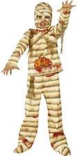 Smiffys Kinderkostüm Zombie Alley Blutige Mumie
