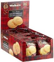 Walkers Highlanders Shortbread Display (24 x 40 g)