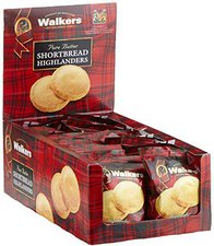 Walkers Highlanders Shortbread Display (24 x 40 g)
