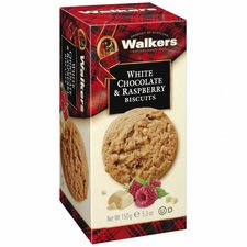 Walkers White Chocolate & Raspberry Biscuits (150 g)