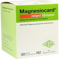 Verla-Pharm Magnesiocard retard 15 mmol Granulatbeutel (30 Stück)