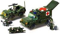 Sluban Land Forces - Krankenwagen + Jeep