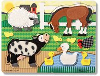Melissa & Doug Steckpuzzle Touch&Feel