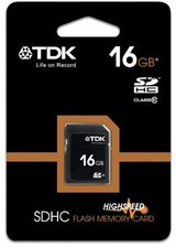 TDK SDHC Card 16GB Class 10