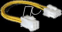 DeLock Kabel PCI Express Stromversorgung 8pin EPS > 4pin ATX/P4
