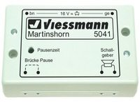 Viessmann Martinshorn mit integriertem Intervallschalter (5041)