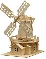 Pebaro Holzbausatz Windmühle