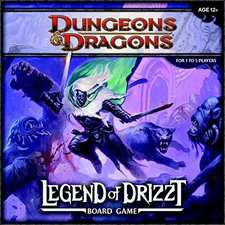 Wizards Dungeons & Dragons Legend of Drizzt