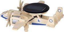 Weico Holzbausatz Radarflugzeug mit Solarzelle
