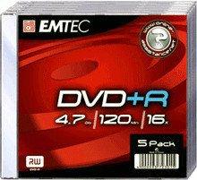 Emtec DVD+R 4,7gb 120min 16x Colour 10er Slimcase