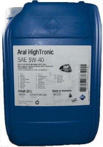 Aral High Tronic 5W-40 (20 l)