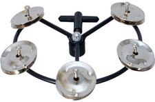 Tycoon Percussion Hi-Hat Tambourine with Jingles