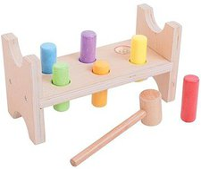 Bigjigs Toys Klopfbank (BB006)