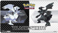 Ultra Pro Pokemon Spielmatte - Schwarz & Weiss