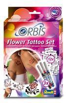 Revell Orbis Airbrush für Kinder Flower Tattoo Set