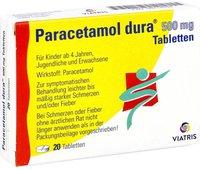 Mylan dura Paracetamol 500 mg Tabletten (20 Stk.)