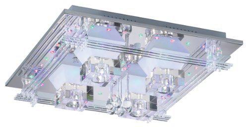 Paul Neuhaus LED-Deckenleuchte Metis RGB Farbwechsel mit Fernbedienung