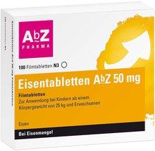 AbZ Eisentabletten 100 mg Filmtabletten (50 Stk.)