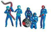 Carrera Figurensatz Mechaniker blau 21110