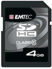 Emtec SDHC Card 4 GB Class 10