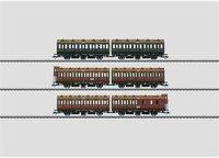 Märklin Set 3 Abteilwagen-Paare KPEV (42041)