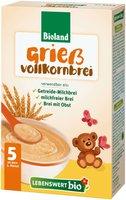 Lebenswert Getreidenahrungen Griess-Vollkornbrei