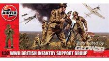 Airfix British Infantry Support Set (A04710)