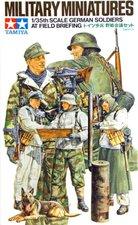 """Tamiya German Soldaten  """"Einsatzbesprechung """" (35212)"""