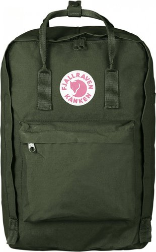 "Fjällräven Kånken Laptop 17 "" forest green"
