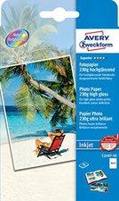 Avery Zweckform Superior Fotopapier, 10x15cm, 230g (C2497-50)