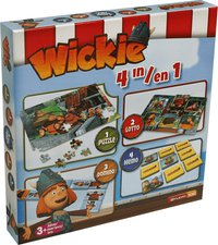 Studio100 Wickie 4-in-1 Spielebox