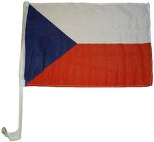 Tschechien Autoflagge EM 2016