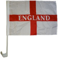 England Autoflagge EM 2016