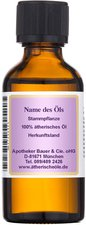 Apotheker Bauer + Cie Schafgarbe Blau 100% Ätherisches Öl (100 ml)