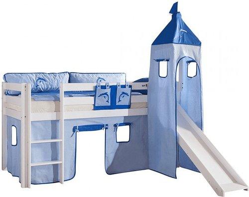 Etagenbett Zubehör Vorhänge : Relita vorhang set für hoch und etagenbetten mit turm günstig