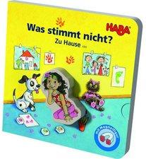 Haba Magnetbuch: Was stimmt nicht? Zuhause