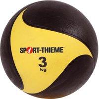 Sport Thieme Medizinball aus Gummi 3 kg ø 22 cm