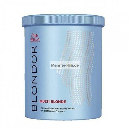 wella blondor multi blonde powder 800 g online bestellen. Black Bedroom Furniture Sets. Home Design Ideas