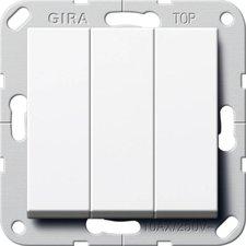 Gira Wippschalter 3-fach (283203)