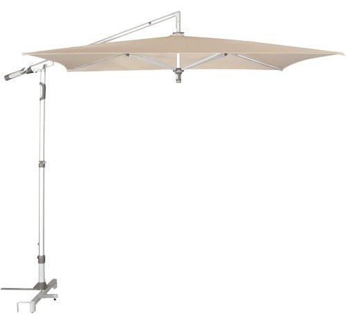 doppler alu pro ii 240 x 240 cm pendelschirm preisvergleich ab 279. Black Bedroom Furniture Sets. Home Design Ideas